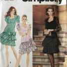 Simplicity 7611. Misses Fitted Prom, Formal, Cocktail, Bridesmaid Dress Sewing Pattern Size 4-10