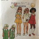 Butterick 3043 Toddlers' & Children's Jumper & Jumpsuit Sewing Pattern Size 4.
