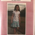 Sew Blessed Designs Pleated Skirt and Skort Size 3-10 Sewing Pattern