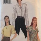 Vogue Easy Options Sewing Pattern Misses short or long sleeved blouse 9794 Size 6 8 10