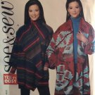 Butterick B6510 6510 See & Sew Pattern Misses Wrap Jacket Sewing Pattern Size XS to XL