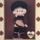 Pecan Pie Boy Doll from Dumplin Designs Lollipop Lane Crochet Pattern