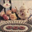 Delightful Doilies Crochet Pattern Leisure Arts Little Books 75024