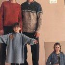 Classic Elite Waterspun Sweater Knitting Patterns 882