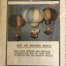 Hot Air Balloon Mobile Sewing Pattern Kustom Krafts