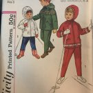 Simplicity 4636 Child's Hooded Jacket and Pants Sewing Pattern Size 5