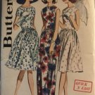 Butterick Pattern 3000 Classic 50's Dress  Sewing Pattern Size 12 Bust 32