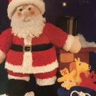 Sirdar 3080 Knitting Pattern Leaflet Father Christmas Toy to knit in Snowflake Chunky