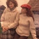 The Bernat Irish Knits Aran Knitting Patterns book 516