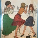 """Simplicity 8326 Girls' Jiffy Skirt in Two Lengths Size 14 waist 26 1/2"""" sewing pattern"""