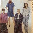McCalls 6769 Misses Top Culottes Pants Shorts Sewing Pattern Plus Size 42 44 46