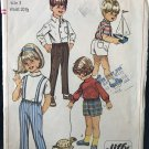 Simplicity 7738 Simple-To-Sew Child's JIffy Pants in Two Lengths size 3 sewing pattern