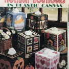 Holiday Boutiques Tissue Covers in Plastic Canvas Pattern Leisure Arts 1670