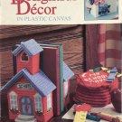 Delightful Decor in Plastic Canvas Designed by Virginia and Michael Lamp Leisure Arts 1991