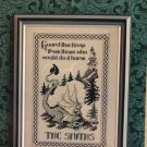 Dragon Dreams Guard This Keep Cross Stitch Pattern Leaflet by Jennifer L. AIkman-Smith
