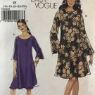 Very Easy Vogue 8508 Misses Pullover Dress Sewing Pattern plus size 16 -24