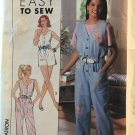 Simplicity 9622 Misses'/Miss Petite Jumpsuit in Two Lengths Sewing Pattern Size Small to XL