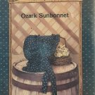 OZARK SUNBONNET, Country Patterns #803, 3 sizes Baby, Girl, and Lady