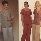 Simplicity 7026 Easy to Sew pattern. Top, Jacket, Pants, Skirt  plus size GG 26W-32W