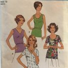 Simplicity 7911 Simple-To-Sew Misses' and Women's Tops Size 16 bust 38""