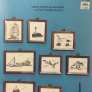 SEASCAPES 1 Birds Boats Lighthouse Beaches Tidewater Originals Counted Cross Stitch Chart Pattern