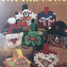 Holiday Mini Baskets in Plastic Canvas Pattern Leisure Arts 1456