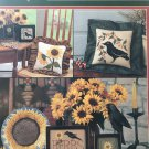 Cross Stitch Pattern Sunflower Harvest by The Need'l Love Company
