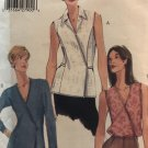 Very Easy Vogue 9877 Misses Top 2 lengths Sewing Pattern size 14 16 18