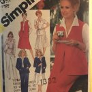 Simplicity 5215 Jacket Vest Pullover Top Pull-On Pants and Skirt in Half Sizes 20 1/2 to 24 1/2
