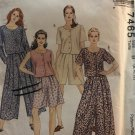 McCalls 7465 Sewing Pattern Women's Two-Piece Casual Outfit with Variations Size 8 10 12