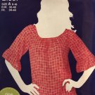 Simplicity 1997 Misses Pullover top Sewing Pattern Size 6 - 16
