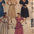McCall's 9621 Misses' Evening Gown Dress and Half-Slip Sewing Pattern Size 6