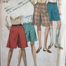 "Simplicity 7212 Culottes in Two Lengths Size waist 30"" Hip 40"" sewing pattern"