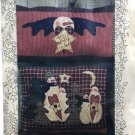 Meme's Quilts Snow Lovely & Angel of Snow applique pillow sewing pattern MQ#118