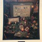 Shepherd's Bush Cross Stitch Pattern Buttoned Yule Merry Christmas