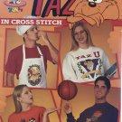 Leisure Arts 2785 Taz In Cross Stitch pattern Looney Tunes