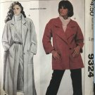 McCall's 9324 Liz Claiborne - Misses' Coat or Jacket and Pants Sewing Pattern Size 14