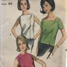 Butterick 3476 Sewing Pattern Overblouse top in Three Versions