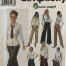 Simplicity 9826 Gauchos & Pants with Leg Width Variations Sizes 6 to 12 UNCUT Sewing Pattern