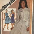 Simplicity 9902 Young Junior/Teens Pullover Dress and Slip Dress Sewing Pattern Size 5/6