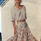 Butterick 6399 727 See & Sew Top and Skirt sewing Pattern Size 6 - 14