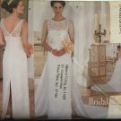 Sewing Pattern Bridal Gown and bridesmaid gown Butterick 5873 Size 8, 10, 12