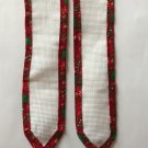 Cross stitch 2 Jingle Bell Bookmarks 14 ct Aida Fabric for cross stitch Christmas Tree Holiday Theme