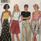 New Look 6508 Misses skirt with pockets, 2 hem lengths Size 8 - 18 sewing pattern