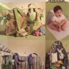 Butterick 5005 Diaper Bag Changing Pad Pacifier Case Sewing Pattern
