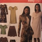 Simplicity 4045 Misses' Dress skirt and tops size 6 -14 Sewing Pattern