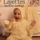 Leisure Arts 3208 Knit Layettes for Little Darlings Knitting Pattern Carole Prior