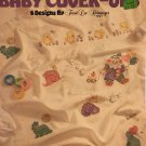 Leisure Arts 2154 Baby Cover-ups 6 designs by Terrie Lee Steinmeyer Cross Stitch Pattern