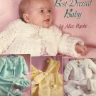 For the Best Dressed Baby Crochet Pattern Layettes American School of Needlework 1247