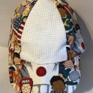 Baseball Cap Hat for Toddler has 14 ct. Aida Fabric Insert for cross stitch Children of the World